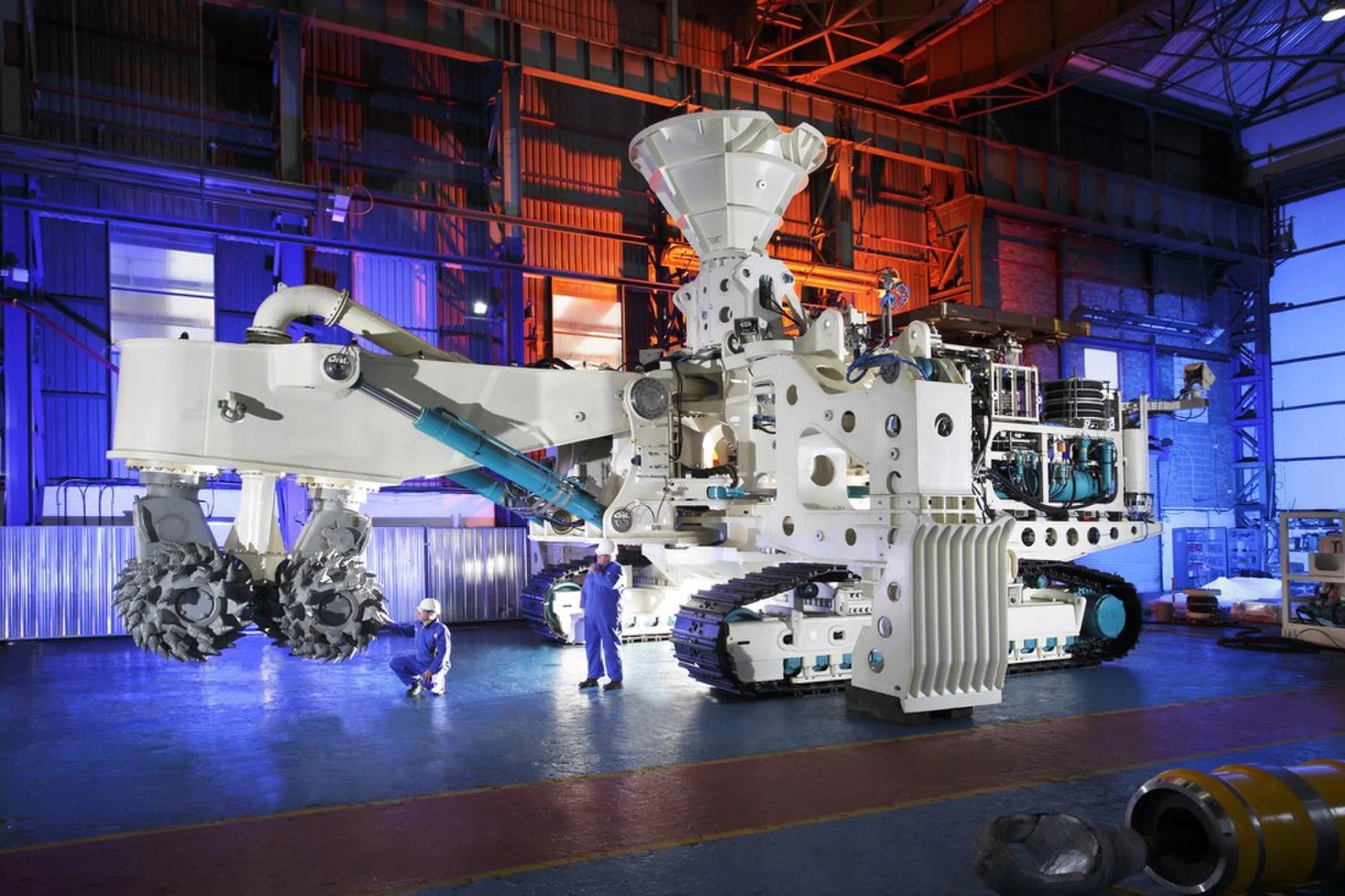 Первое в мире глубоководное горнорудное предприятие готовится к запуску в 2019 году