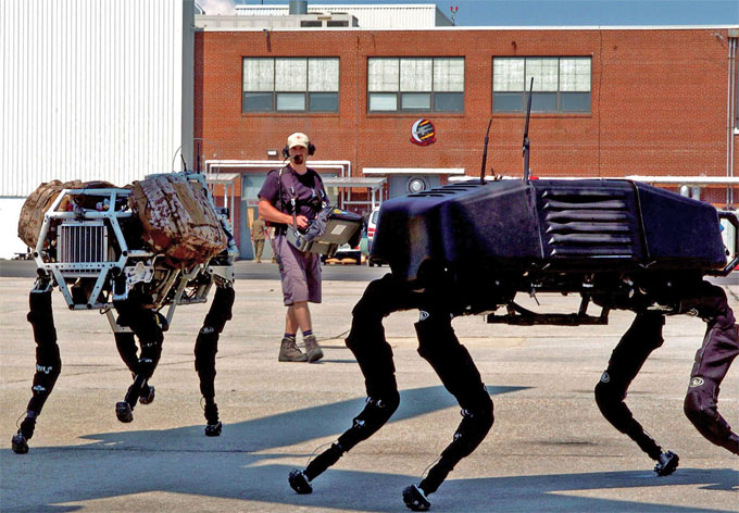 Робот BigDog от Boston Dynamics