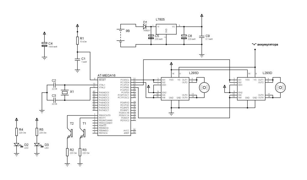 Управление роботом EV3 при помощи станицы аппаратных средств