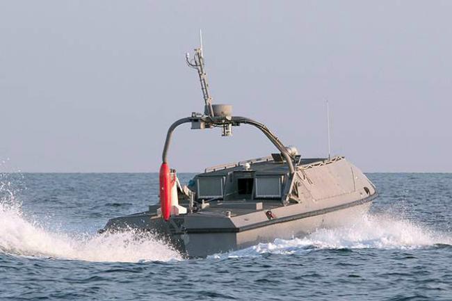 Применение роботизированных систем для поиска морских мин