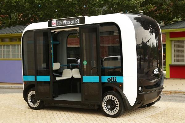 Local Motors показала автономный автобус с«мозгами» отIBM Watson