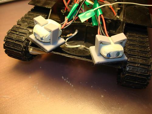 Датчики препятствий для робота